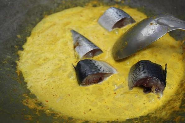 แกงคั่วปลาซาบะปักษ์ใต้